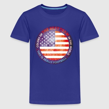 USA Sports Vintage Shield - Kids' Premium T-Shirt