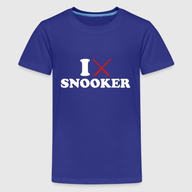 I love Snooker - Kids' Premium T-Shirt