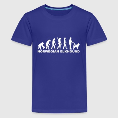 Norwegian Elkhound - Kids' Premium T-Shirt