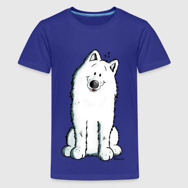 Samoyed Cute Samoyed - Kids' Premium T-Shirt