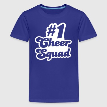 #1 cheer squad number one - Kids' Premium T-Shirt