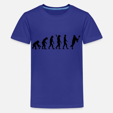 Evolution Of Lacrosse Evolution Lacrosse - Kids' Premium T-Shirt