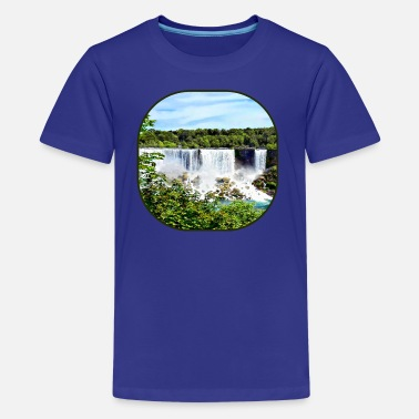 Niagara Falls Niagara Falls ON - American Falls and Bridal Veil  - Kids' Premium T-Shirt