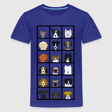 18 dogs - Kids' Premium T-Shirt