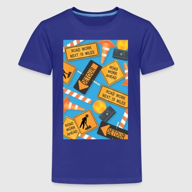 Road Signs - Kids' Premium T-Shirt