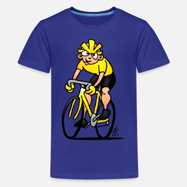 France Cyclist - Cycling - Kids' Premium T-Shirt