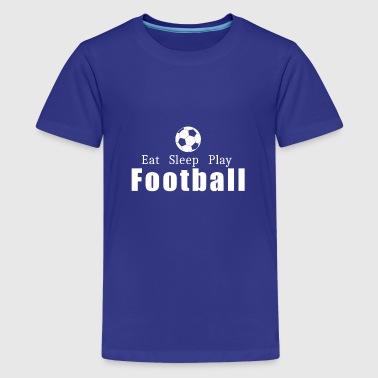 Football Boyfriend Cute Apparel Eat Sleep Play Cool Shirt Geek Hoodie