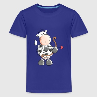 Love Cow Love Cow - Cows - Heart - Kids' Premium T-Shirt