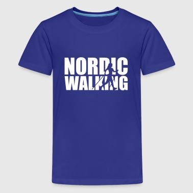 Walk Trekking Nordic walking - Kids' Premium T-Shirt
