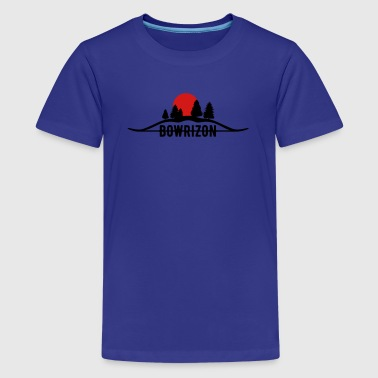 Bowrizon (Archery by BOWTIQUE) - Kids' Premium T-Shirt