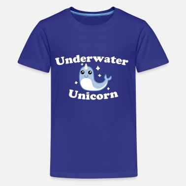 Underwater Unicorn Underwater Unicorn - Kids' Premium T-Shirt