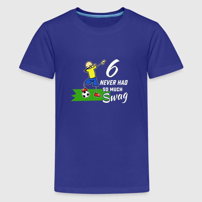 6th birthday boys soccer dab t shirt t shirt spreadshirt for Boys soccer t shirts