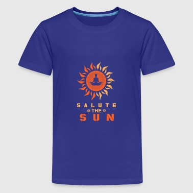 salute the sun - Kids' Premium T-Shirt