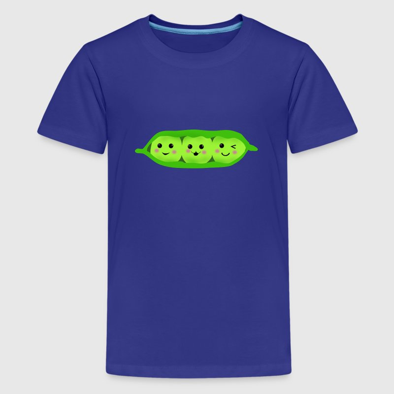 three peas in a pod - Kids' Premium T-Shirt