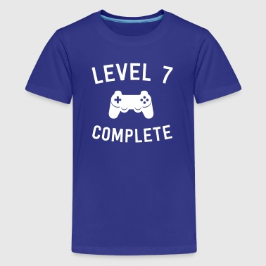 Level 7 Complete - Kids' Premium T-Shirt