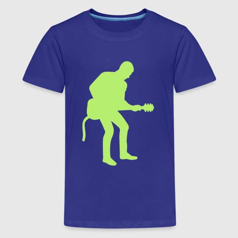 Rock star musician - Kids' Premium T-Shirt