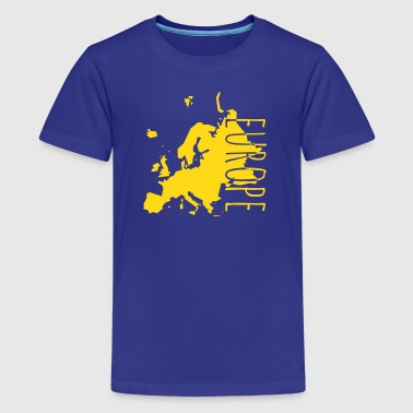 Europe Geek europe - Kids' Premium T-Shirt