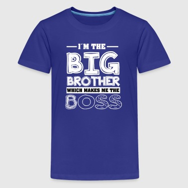 Baby Sister Big Brother Cool T-Shirt - Kids' Premium T-Shirt