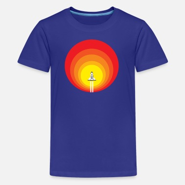 Rocketship Rocketship to the Sun - Kids' Premium T-Shirt
