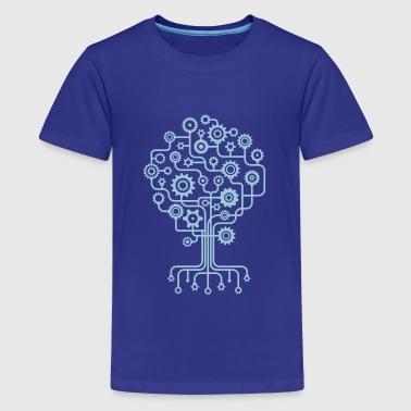 Roots Tree Design Nature at Work - Tree and Roots - Kids' Premium T-Shirt