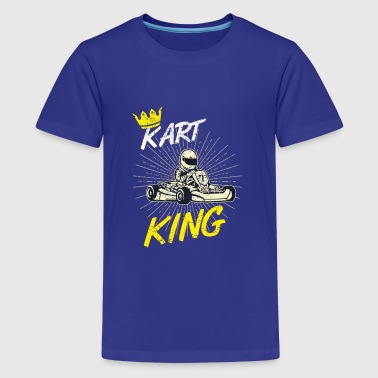 gift shirt kart King - Kids' Premium T-Shirt
