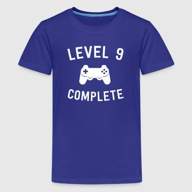 Level 9 Complete - Kids' Premium T-Shirt