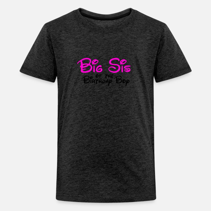 Big Sis Disney Birthday Kids Premium T Shirt