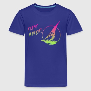Flint River - Kids' Premium T-Shirt