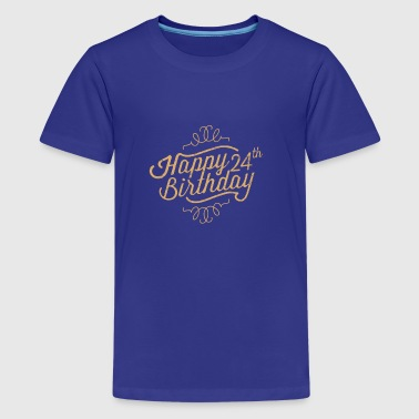 Happy 24th Birthday - Kids' Premium T-Shirt