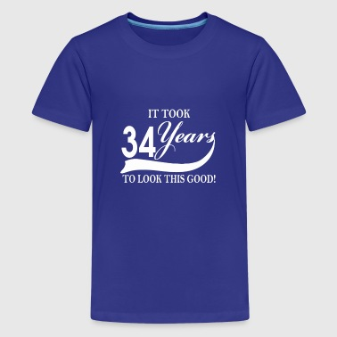 It took 34 years to look this good - Kids' Premium T-Shirt