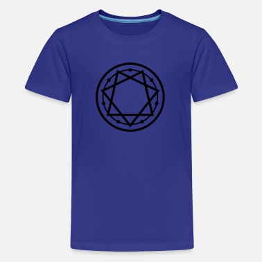 Seven Heptagram Star 777 Pentagram 1c - Kids' Premium T-Shirt