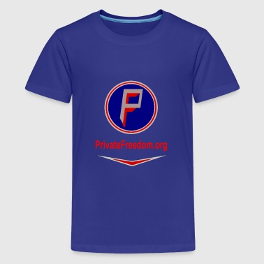 PF logo with chevron - Kids' Premium T-Shirt
