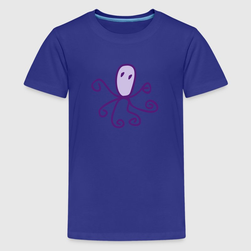 Children's drawings: octopus - Kids' Premium T-Shirt