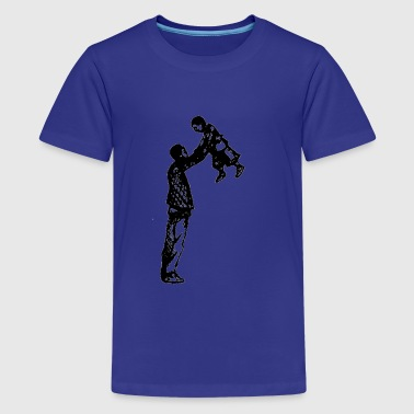 Father & Son - Kids' Premium T-Shirt
