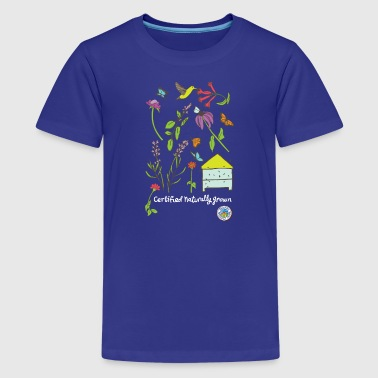 Pollinator and Wildflower Shirt - Kids' Premium T-Shirt