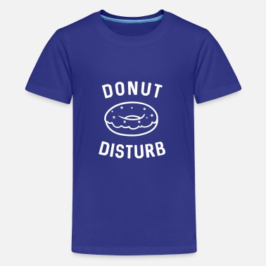 Chocolate Jokes Donut Disturb - Kids' Premium T-Shirt