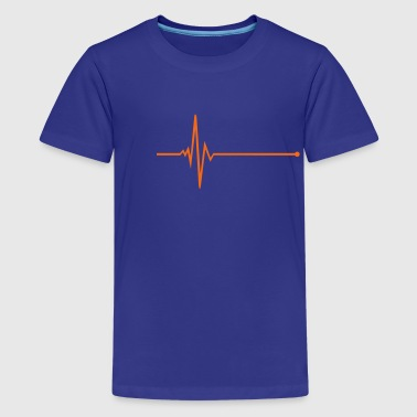 pulse - frequency - Kids' Premium T-Shirt