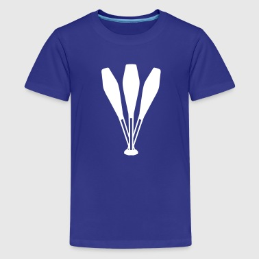 Juggling pins - Kids' Premium T-Shirt