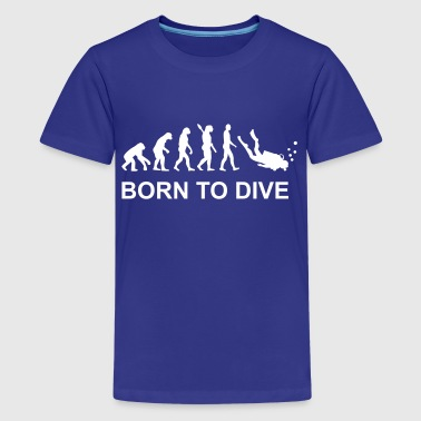 Evolution Diving - Kids' Premium T-Shirt