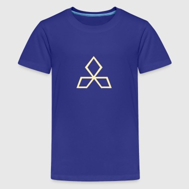 Tricep medieval alchemical magic symbol triceps - Kids' Premium T-Shirt