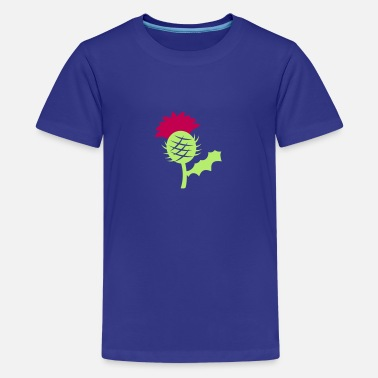 Scotland Scottish Single Scotland Scottish highland Thistle - Kids' Premium T-Shirt