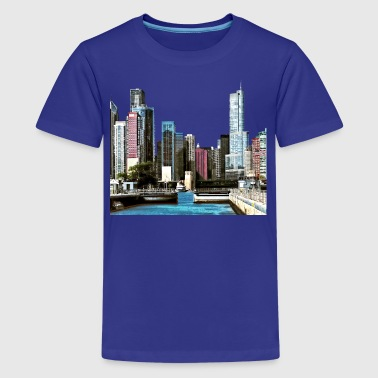 Women's Chicago Chicago IL - Chicago Harb - Kids' Premium T-Shirt