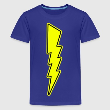 Bolt - Lightning - Shock - Electric - Kids' Premium T-Shirt