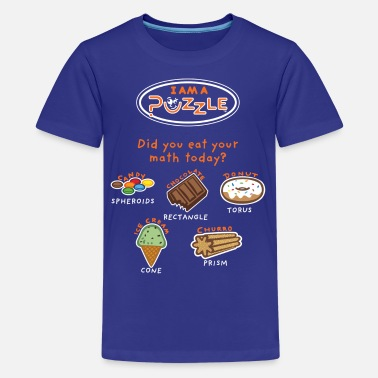Kids Math Did you EAT your math today?   - Kids' Premium T-Shirt