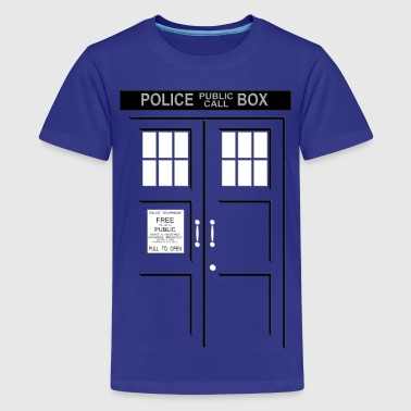 Doctor Who I'm in Tardis - Kids' Premium T-Shirt