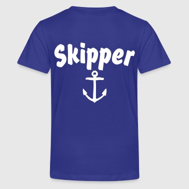 Skipper Anchor - Kids' Premium T-Shirt