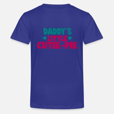 Pie DADDY's little CUTIE-PIE - Kids' Premium T-Shirt