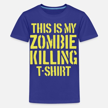 The Zombie Killing Tee - Kids' Premium T-Shirt