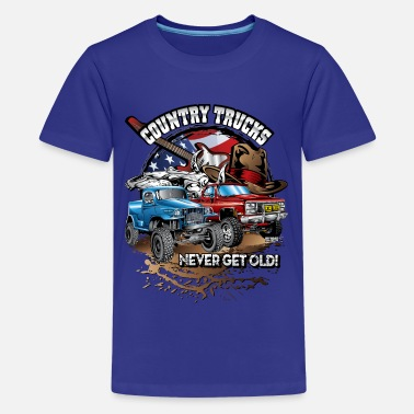Country Country Off-Road Trucks - Kids' Premium T-Shirt