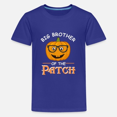 Family Party Big Brother Of The Patch Halloween Matching gift - Kids' Premium T-Shirt
